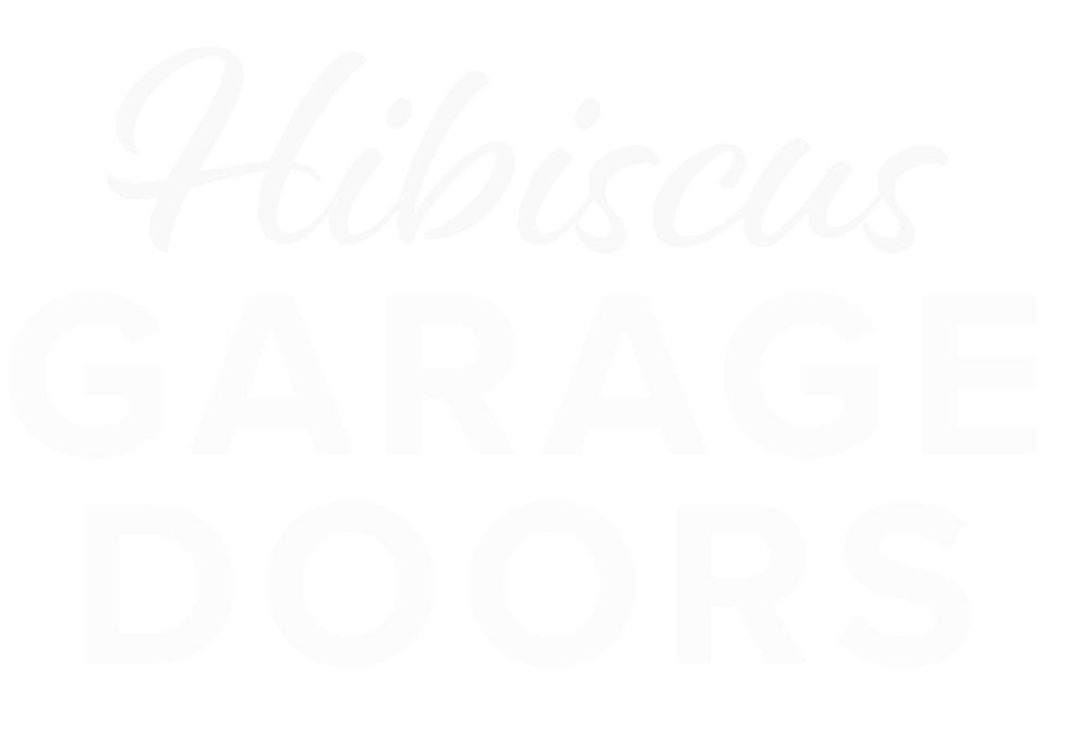 Hibiscus Garage Doors